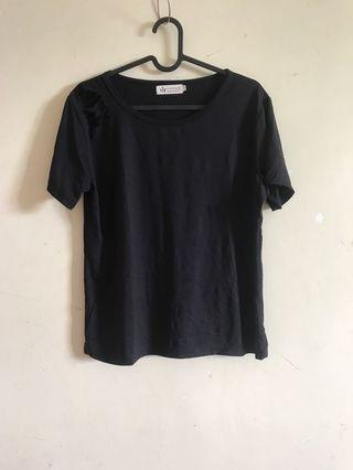 Ripped shoulder tee
