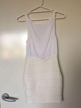 Nec&bridge white dress #swapau