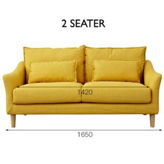 Ruth 2 Seater Sofa