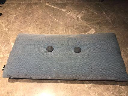 HAY blue-grey dot cushion