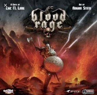 🚚 Blood rage with mystics board game