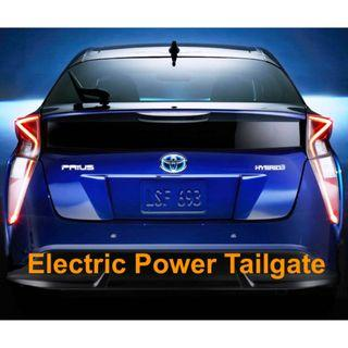 Electric Power Tailgate - Toyota Prius