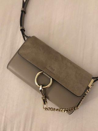 Authentic Chloé Faye mini bag