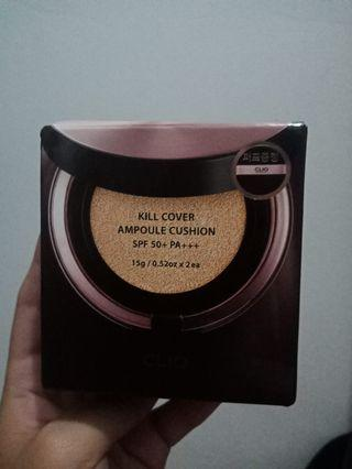 Clio Kill Cover Ampoule Cushion Refill + Puff Shade 4-BO Ginger (Duty Free Rose Gold Edition)