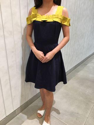 Mustard Navy Sabrina