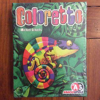 Coloretto 10 Anniversary edition card game (NOT FAKE)