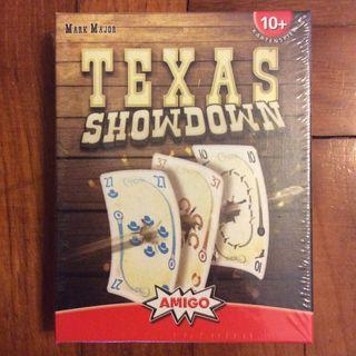 Texas Showdown card game