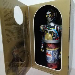 Pepsi x Star Wars C3PO can holder (new/ original)