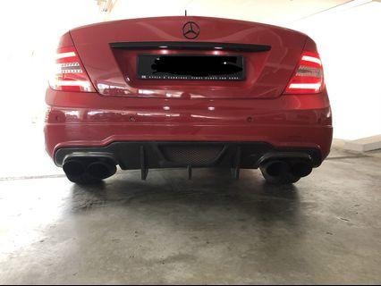 W204 Exhaust