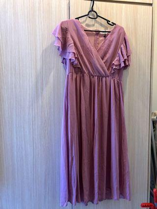 Dinner Chiffon dress