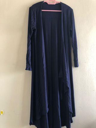 Preloved - Ruffle Long Cardigan