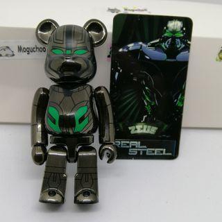 (secret) Real Steel Zeus Series 23 Bearbrick toy figure