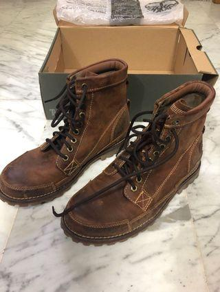 Timberland Red Brown Earthkeeper Boots