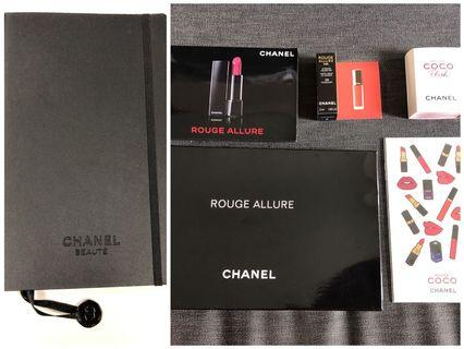 Chanel Sample and Notebook Pack