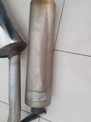 Exhaust bullet