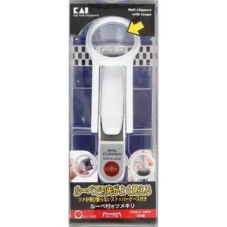 🚚 日本貝印放大鏡指甲剪