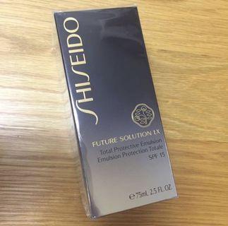 🈹🈹[全新]Shiseido Future Solution LX Total Protective Emulsion 資生堂乳液