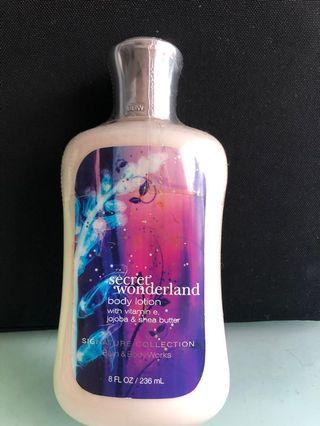 🚚 Secret Wonderland (Bath and Body Works) Body Lotion