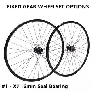 Fixed gear wheelset - XJ, LEGEND, PIZZ, RINPOCH, Gray, Hplusson, Mavic - Promotion and Instock, Next day delivery !!
