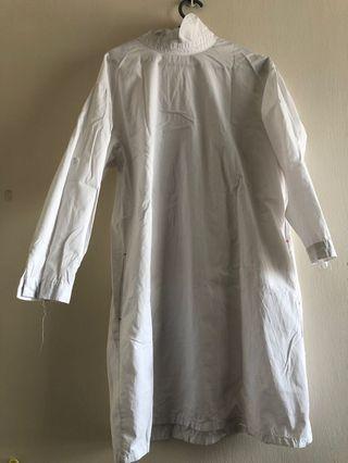 Preloved - White long top
