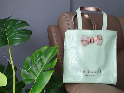 Authentic Mint Green Ted Baker Small Tote Bag
