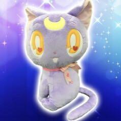 露娜 公仔 38cm高 Sailor Moon Luna 貓 日本直送 Toreba