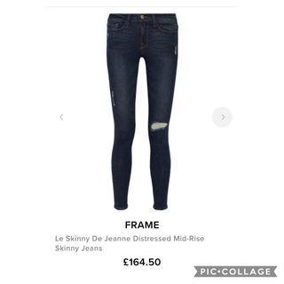 Frame Denim Le skinny de Jeanne Size 25