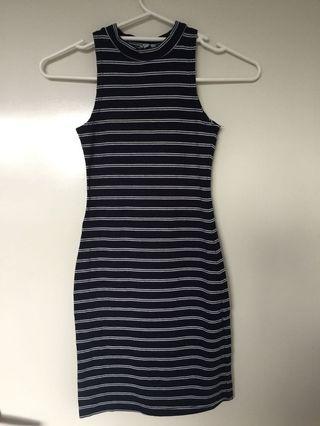 Basic stripe dress #swapau