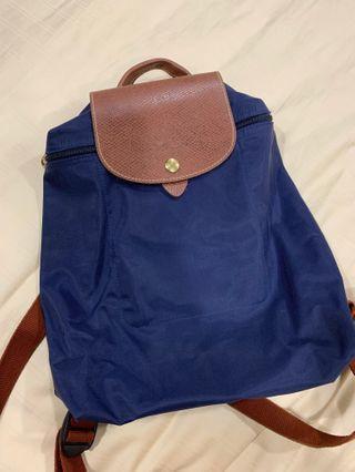 Longchamp Le Pliage Folding Backpack (Authentic)