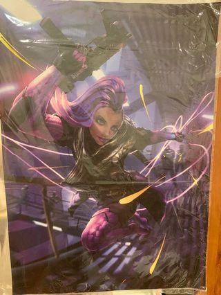 🚚 Overwatch Sombra poster