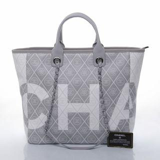 Chanel Deauville Canvas Tote Runway 69179