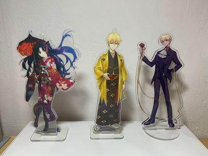 🚚 Fate Grand Order fes 2017 standees