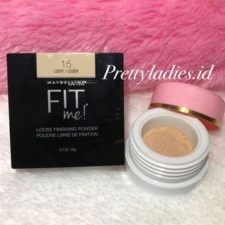 MAYBELLINE FIT ME LOOSE FINISHING POWDER Share in jar