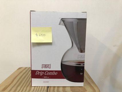 手沖咖啡濾網與下壺