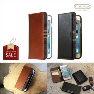 """n.max.n New Slipcase Series Leather Case (iPhone 8/7/6S/6 4.7"""")"""
