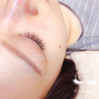 日式一接一植睫毛 eyelashes
