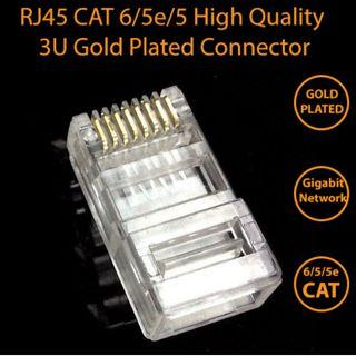 🚚 RJ45 CAT6 Connector Plug