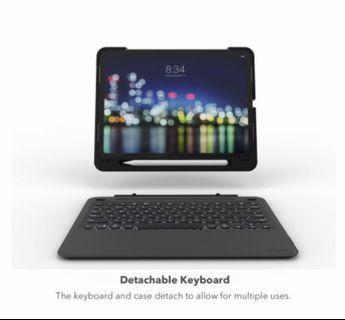 """Zagg Slim Book Go Case for iPad Pro 11"""" (2018) Pencil Holder"""