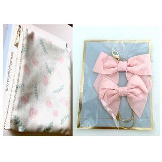 (GSS) Simplicity Pouch and Bow Charm/Paper Clip Set by Simply Gilded