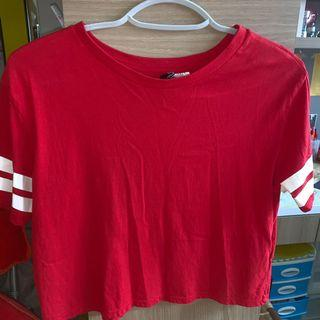 H&M DIVIDED TOP