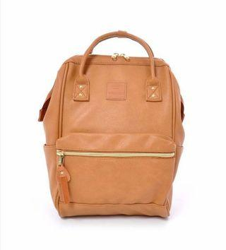 Anello Backpack PU Leather (1 big & 1 small)