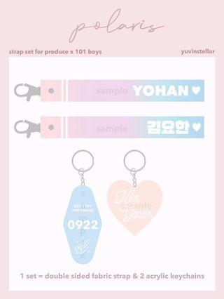 Produce X 101 Boys Strap Set by POLARIS