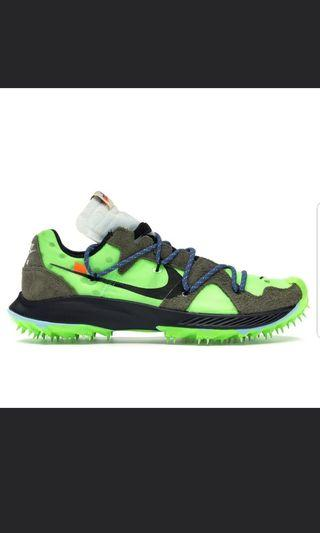 🚚 Nike x off white zoom terra kiger 5