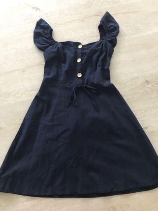 🚚 Brand new Navy blue dress