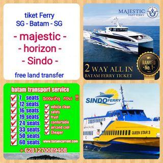 Batam Ferry tiket & transport