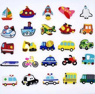 25 transport magnets for fridge whiteboard