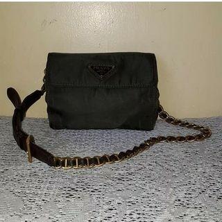 Prada chain beltbag