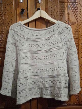 Blouse Cream knit