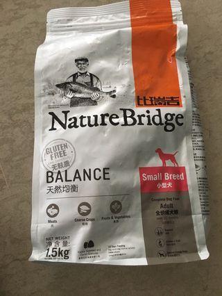 🚚 Nature bridge dry dog food