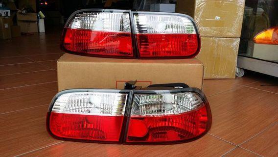 Honda Civic EG6 Crystal Tail Light